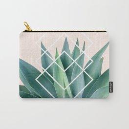 Agave geometrics - peach Carry-All Pouch