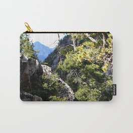 Clinging to the Brink over Vallecito Creek Carry-All Pouch