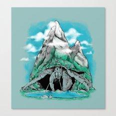 The Mountain Hermit  Canvas Print