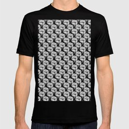 Fight the power / 3D render of raised fists T-shirt
