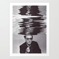 godard Art Prints featuring GODARD, 2015 by Azamat Akhmadbaev