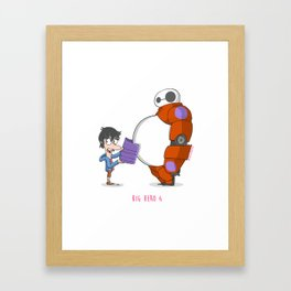 21 - BIG HERO 6 Framed Art Print