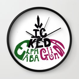 Wicked Witch Hat Wall Clock