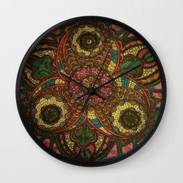 HAZARDOUS KALIEDOSCOPE Wall Clock