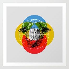 Givers Redux Art Print