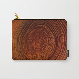 Magma Tree Rings Carry-All Pouch