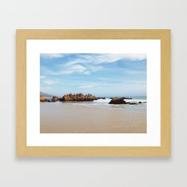 The Pacific Framed Art Print
