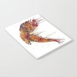 Flying Hawk Watercolor Painting Notebook