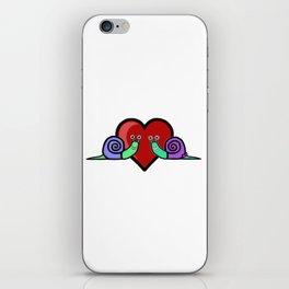 Snail Couple iPhone Skin