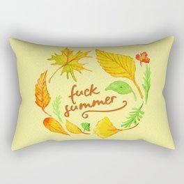 fuck summer Rectangular Pillow