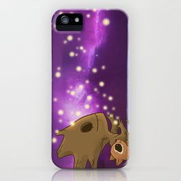 Nighty-night, Rocket! iPhone Case