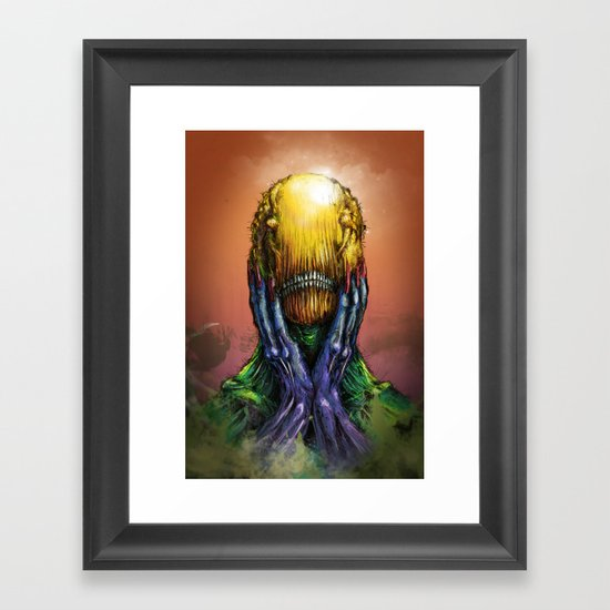 """Blind"" Framed Art Print"