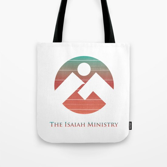 The Isaiah Ministry Logo Tote Bag