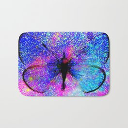 Celestial Butterfly : Bright & Colorful Bath Mat
