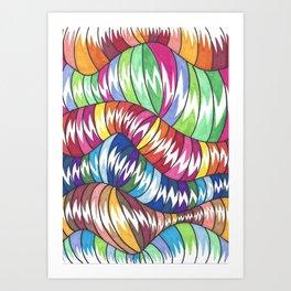 Wormies 1 Art Print