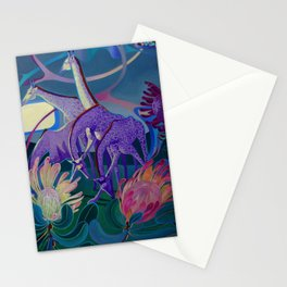 Moonlight dances Stationery Cards
