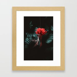 Hummingbird Poster Framed Art Print