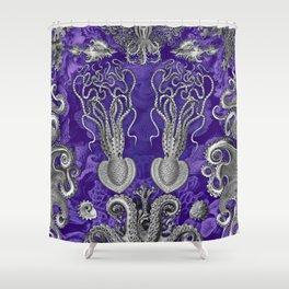 The Kraken (Purple - No Text) Shower Curtain