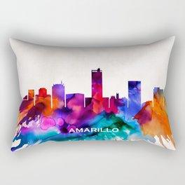 Amarillo Skyline Rectangular Pillow