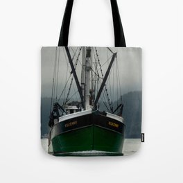 Commercial Fishing Boat Photography Print Tote Bag