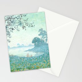 Charles Guilloux - Le Lac - The Lake Stationery Cards