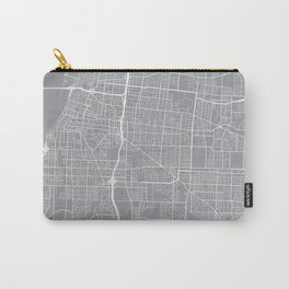 Memphis Map, Tennessee USA - Pewter Carry-All Pouch