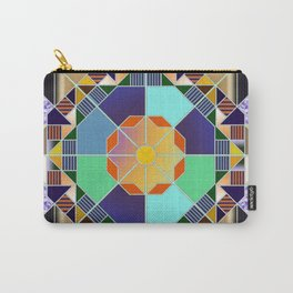 Octagonal geometric pattern abstract Carry-All Pouch
