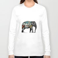 monster inc Long Sleeve T-shirts featuring Ivory Inc. by pat langton