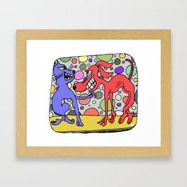 Digi Digi Framed Art Print