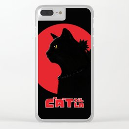 Catzilla Clear iPhone Case