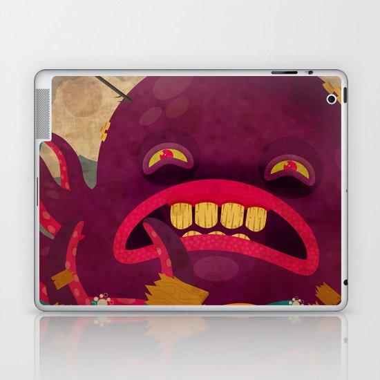 giant octopus Laptop & iPad Skin