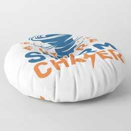 Future Storm Chaser Floor Pillow