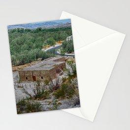 Hacienda in the Desert Stationery Cards