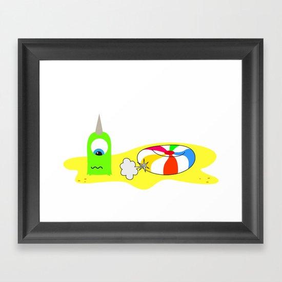 BUBOL BALL Framed Art Print