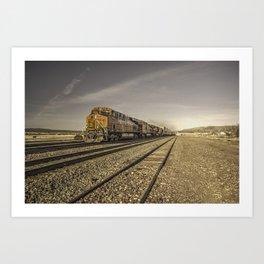 Arizona Freight  Art Print