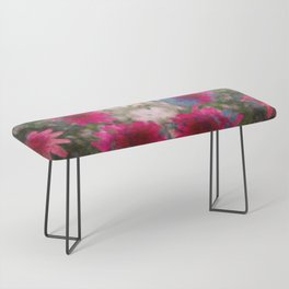 flowers abstract Bench