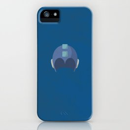 Cool Megaman Helmet Picture iPhone Case