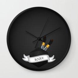 D20 Rogue Wall Clock