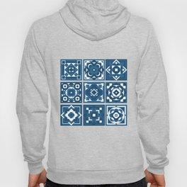 little blue tiles Hoody