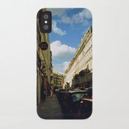 Paris in 35mm Film: Rue Malher in Le Marais iPhone Case