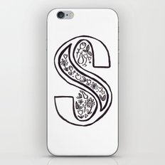 S is for iPhone & iPod Skin