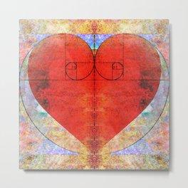 Love Fibonacci - Grime Weasel Metal Print