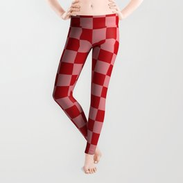 Holly Berry Checkerboard Leggings