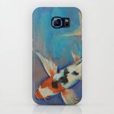 Sanke Butterfly Koi Galaxy S7 Slim Case