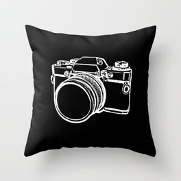 Camera 1 Throw Pillow