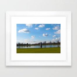 Richmond Park Framed Art Print