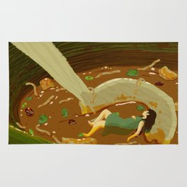 Hot and Sour Soup Rug