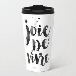 JOIE DE VIVRE, French Decor,French Quote,Dorm Room Decor,Home Decor,Modern Art,Girls Printable,Girls Travel Mug