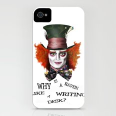 The Mad Hatter Slim Case iPhone (4, 4s)