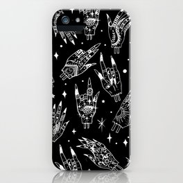 Floating Witchy Goth Hands iPhone Case